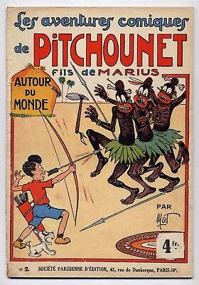 Pitchounet n°2 Mat Ed. SPE 1935 BE