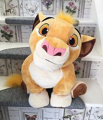 Lion King Simba Extra Large Authentic Disney Store Soft Floppy Plush Toy