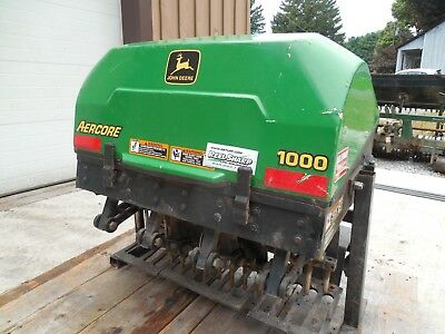 John Deere Aercore 1000 aer core aerifier plugger air three point hitch tractor