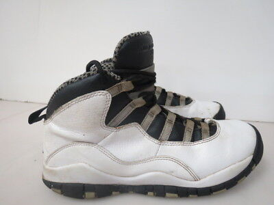 new concept fe463 34981 Nike Air Jordan 10 Retro Gs White Steel X 310806-103 SIZE 6Y I100K