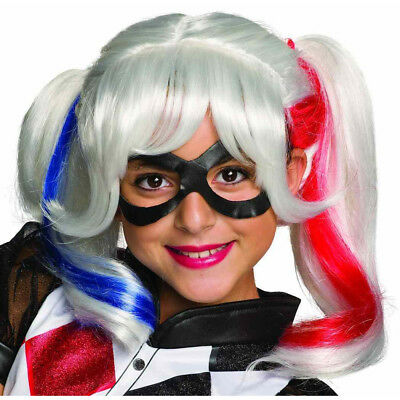 Rubies Harley Quinn Suicide Squad Adult Womens Halloween Costume Wig 33608