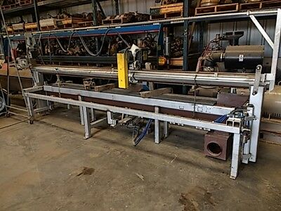 COLD PLATE SAW for Non Ferrous Metals Cut Capacity 3″ THICK X 144″ WIDE