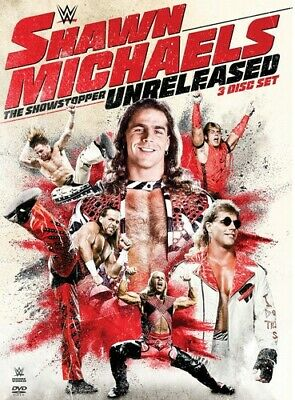 WWE: Shawn Michaels The Showstopper Unreleased [New DVD] 3 Pack, Amaray Case