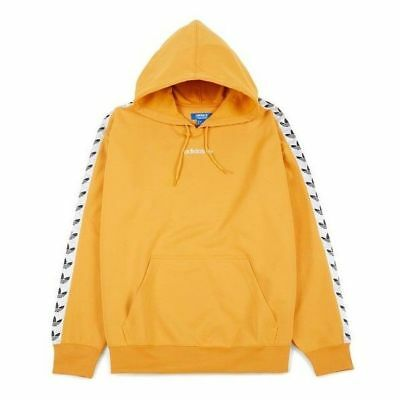 Adidas Pullover Bs4669 Logo Trefoil Hoodie Tape Yellow Tnt