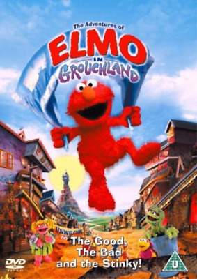 -The Adventures Of Elmo In Grouchland DVD NEW