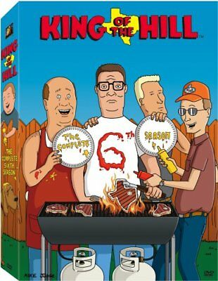 KING OF THE HILL SEASON 6 New Sealed 3 DVD Set