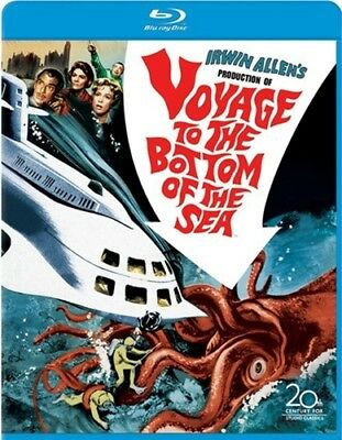 VOYAGE TO THE BOTTOM OF THE SEA New Sealed Blu-ray