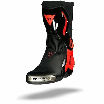 Dainese Torque D1 Out Black Fluo Red Motorcycle Boots - New! Free P&P!