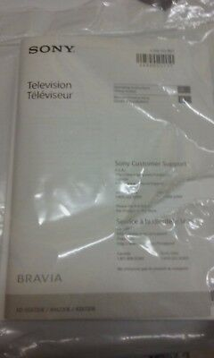 SONY BRAVIA XBR-49X800D Xbr-43X800D Lcd Tv Owner's Manual