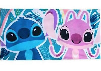Disney Store Angel and Stitch Beach Towel