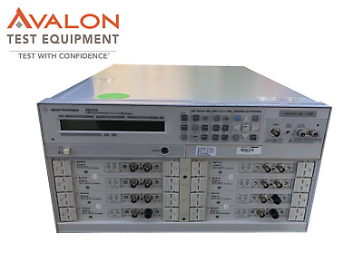 Agilent E5270A 8 Slot Parametric Measurement Mainframe