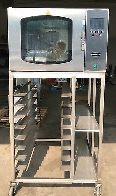 Beautiful Belshaw Adamatic oven With Stand On Casters Free Ship 48 States