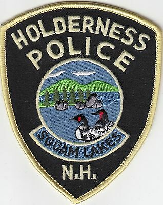 """Holderness Police """"squam Lakes"""" New Hampshire Nh Patch"""