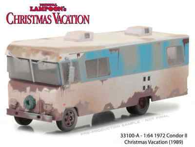 Greenlight 1/64 Scale Model Christmas Vacation Cousin Eddy's Rv | 33100-A