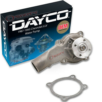 Dayco Water Pump for Chevrolet LLV 1987-1993 - Engine Tune Up Accessory hw