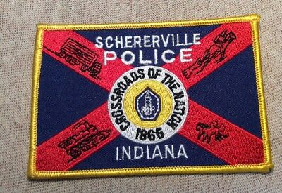 IN Schererville Indiana Police Patch