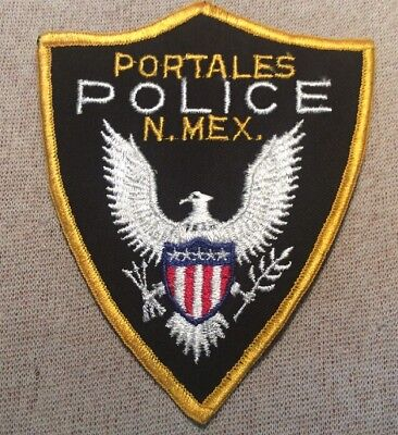 NM Portales New Mexico Police Patch