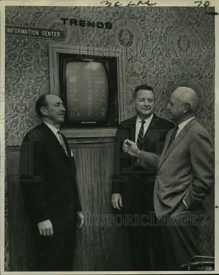 1967 Press Photo Merrill Lynch, Pierce, Fenner and Smith, Inc. new office