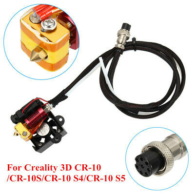 0.4mm Nozzle MK8 Extruder Hot End Kit Set 3D Printer Parts For Creality CR-10 CO