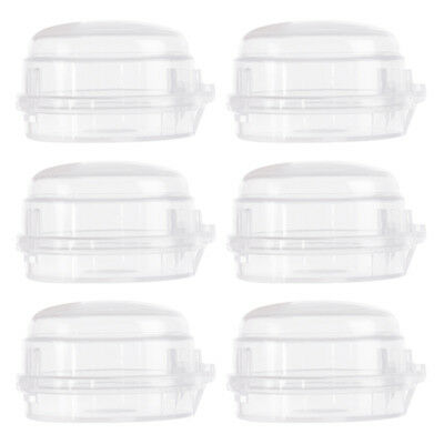 6 Pack Mini Covers, Suit For Small Gas Knob,Safety Children Kitchen Stove KnG9E5