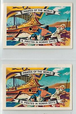 Marchants Soft Drinks - Pirates in Roman Days (1960s) - Collector Cards (2)