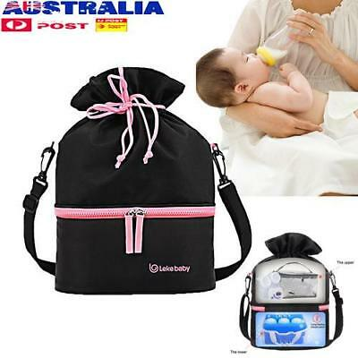 Portable Breast Milk Preservation Storage Milk Ice Pack Baby Travel Bottle Bag