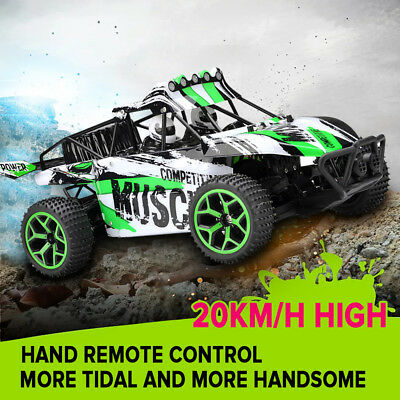 1:18 Remote Control Monster Truck 4WD 2.4G Off-road RC Car RTR Cross-country Car