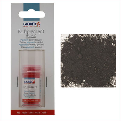 Nuevo Glorex Pigmentos Color, 14ml, Negro