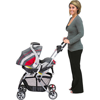 Baby Trend Lightweight Travel Snap-N-Go Universal Single Baby Stroller Carriage