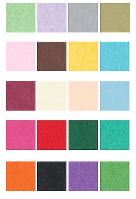 Tissue Paper Wrapping Crafting Multi Colored  20 x 30 Gift Quality Bulk 480 Shts