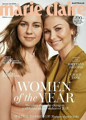 MARIE CLAIRE Australia Magazine October Issue 2018  Jennifer Lawrence New