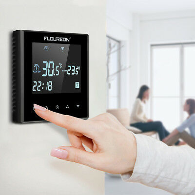 Room Temperature Digital Controller Cooling Heating Thermostat + Switch Sensor