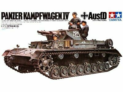 Tamiya 1/35 scale WW2 German Pzkpw IV Ausf. D Tank Military model kit