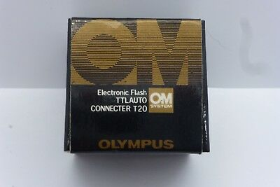 Olympus OM Flash TTL Auto Connecter T20 - Boxed