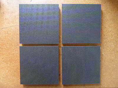 4x P2.5 ICN2037 high quality LED Matrix Panels Display Austauschmodule 64x64