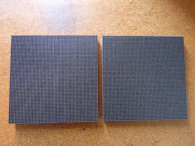 2x P3 high quality LED Matrix Panels Display Austauschmodule 64x64 pixel