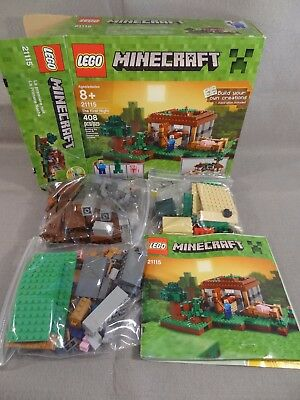 Lego Minecraft The First Night 21115 2000 Picclick