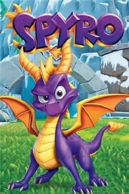 Spyro - Reignited Trilogy POSTER 61x91cm NEW