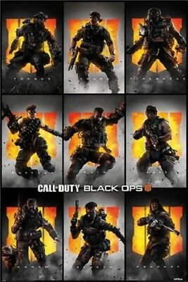 Call Of Duty: Black Ops 4 - Characters POSTER 61x91cm NEW Prophet Seraph Nomad++