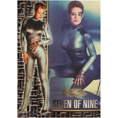 Star Trek Voyager Profiles Seven of Nine Sonderkarte 5of9 Mint Trading Cards