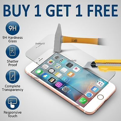 For Apple IPhone 6s & 6 - 100% Genuine Tempered Glass Film Screen Protector