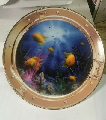 Royal Doulton Neptune's Porthole by miller Collectors Plate #  RA7177