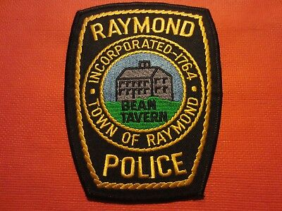Collectible New Hampshire Police Patch, Raymond