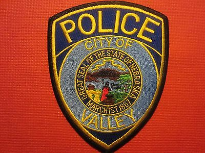 Collectible Nebraska Police Patch Valley City New