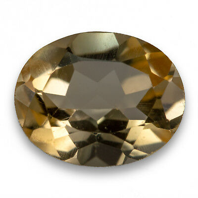 2.17ct Citrine. An oval cut, yellow gemstone. Eye clean and 100% natural.