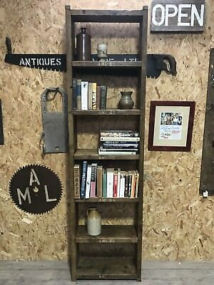 7 Shelve Industrial Up-Cycled  Unit