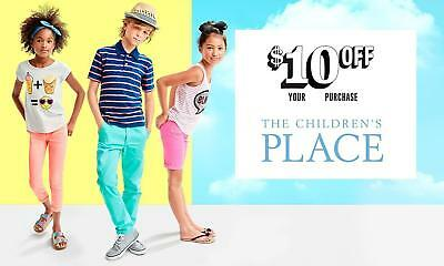 Children's Place 10$ Off 40$ Coupon Code EXP 11/2/18