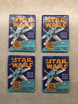 1978 Topps Star Wars Movie Photo Cards Series 5 Unopened Wax Pack 1x