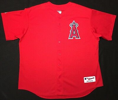 35aaf276 ... coupon code for authentic los angeles angels of anaheim majestic jersey  size 2xl 9305c b7095