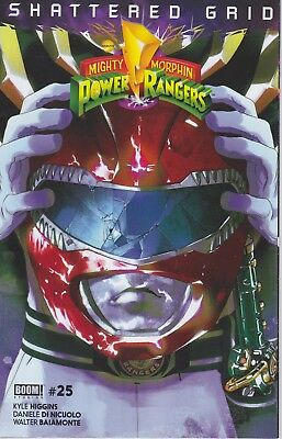 RED RANGER Mighty Morphin Power Rangers 25 Shattered Grid MMPR VARIANT BOOM